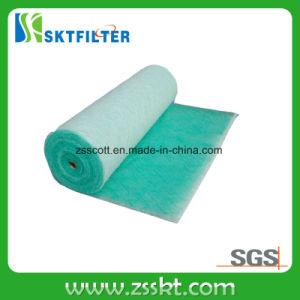 살포 부스 필터를 위한 녹색과 백색 페인트 정지