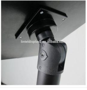 iPadのための望遠鏡のロックできるホールダーの立場