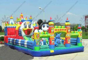 En PVC Durable populares juegos de Mickey castillo inflable