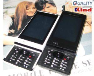 Duplo SIM Touch Design Phone-Slide Móvel