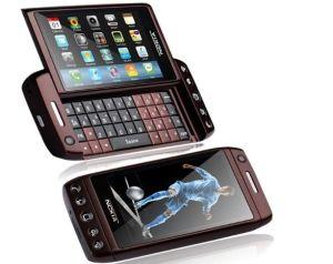 T5000 TV WiFi Dual quad band de câmara dupla do Cartão SIM desbloqueado Celular Telefone celular com teclado completo QWERTY Tela 3.6Inch