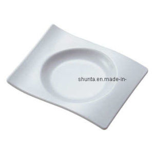100 % de la mélamine vaisselle - Cercle de la plaque (WT1413)