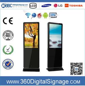 47-дюймовый HD НАПОЛЬНЫЕ ЖК-рекламы плеер с сети 3G/WiFi для