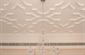 81536# het Afgietsel van de Architectuur Pu van de Decoratie van de Kroonlijst van het dak