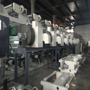 Bewegungscomputer-Steuergravüre-Drucken-Maschine des Lichtbogen-Systems-3 für Film in 160m/Min