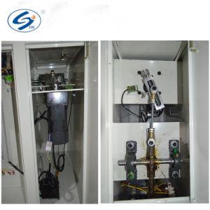 Stecker-Netzkabel-Kabel, das Prüfvorrichtung biegend verbiegt