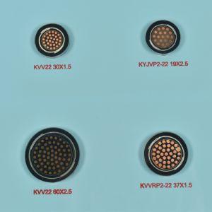 Condutores de cobre com isolamento de PVC revestido de PVC Kvv do cabo de comando