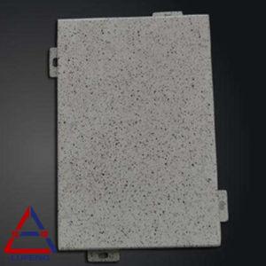 Mable de granos de piedra de chapa de aluminio para muro cortina