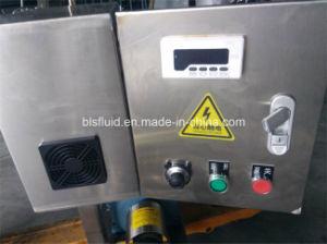 Les mesures sanitaires de la vis en acier inoxydable, à double spirale de la pompe de la pompe