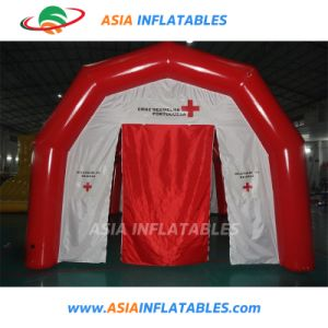 膨脹可能なテント、膨脹可能な緊急治療室、膨脹可能な医学のテント、膨脹可能なレスキューのテント、膨脹可能な移動式病院のテント