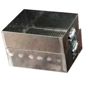 火の石炭によって焼かれるシード機械