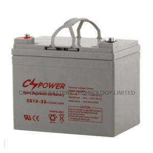 De diepe Batterij van het Gel van de Batterij van de Batterij van de Cyclus VRLA Zonne12V 33ah