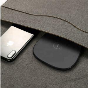 Qi-drahtlose Aufladeeinheits-Auflage für iPhone oder Samsung