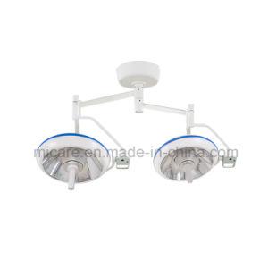 病院の二重ヘッド天井のタイプLED操作ライト