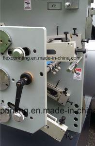 Druk Machine3/1 van Flexo van het Lint van het Etiket van de Stof van het Type van Etiket van het satijn de Poly