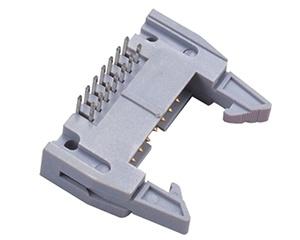 ein 2.54 mm-Abstand 16 steckt der 180 Grad-Ejektor-Vorsatz fest