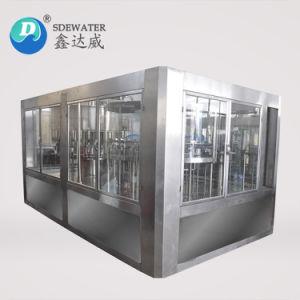 riempitore minerale puro della bottiglia di acqua di 6000b/H 500ml