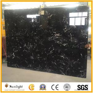 床、フロアーリング、壁のための中国の安い黒い氷の花の大理石のタイル