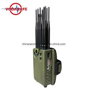De Draagbare Handbediende Stoorzenders van de goede Kwaliteit 8000mA voor het Militaire Gebruiken met inbegrip van Lojack, 3G 4G 2g 5g GPS van de Afstandsbediening Signalen
