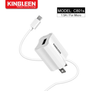 Модель C801s интеллектуальное быстрое зарядное устройство подходит для микро кабель