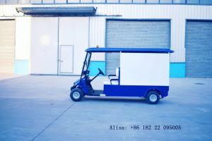 Carrinho de golfe eléctrico de alta qualidade com caçamba aprovado pela CE
