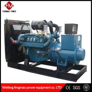 Flüssiges Quarzsteuerung des leisen Computer-350kw/400kVA koreanisches Doosan Dieselgenerator-Set