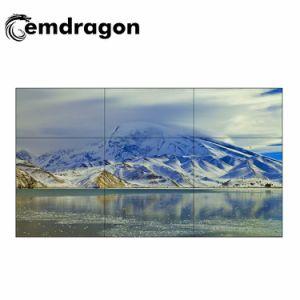 텔레비젼 스크린 광고 46 인치 LCD 스크린 매우 얇은 LED 디지털 Signage를 광고하는 영상 벽 접촉 대화식 전시