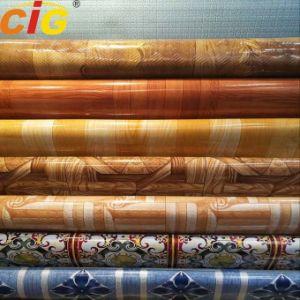 방수 PVC 바닥 깔개를 인쇄하는 다중 색깔 0.35 - 1.2mm 간격