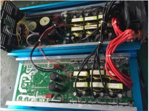Hot onda sinusoidal pura DC 24V a 220V AC Inversor de potencia 1000 W con cargador&UPS