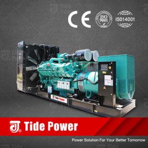 El poder de la marea de tipo abierto grupos electrógenos diesel, Rango de potencia de 5kVA hasta 3900kVA, motor Cummins, Perkins, Doosan, Mitsubishi, Balduino, LEROY SOMER, Stamford
