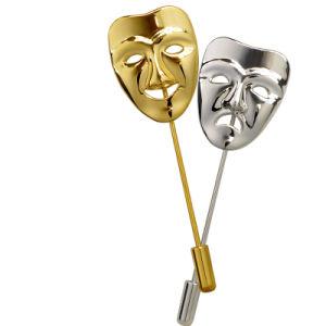 昇進項目顧客用旧式な金は停止する打たれた真鍮の棒Pinの金属のギフトの折りえりPin (180)を