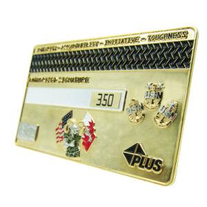 熱い販売法の昇進のビザの記念品のギフト(129)としてクレジットカードの金属の硬貨のバッジ