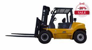 6t de Diesel XCMG Vorkheftruck van uitstekende kwaliteit Fd60t met Triplex Mast 6000mm