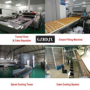 Guangzhou-Fabrik-Preis-Bäckerei-Geräten-Tunnel-Ofen-Produktionszweig für Nahrungsmittelsüßigkeiten-Brot-Pizza-Kuchen-Biskuit