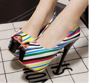 Nuevo Diseño de Moda chicas zapatos de tacón alto