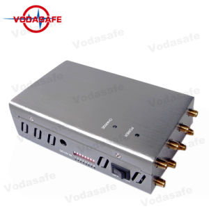 8 Bandas CDMA/GSM/3G/4glte celular/WIFI/Bluetooth/Lojack/Gpsl/Glonass/Galileol1/L2 Jammer señal