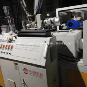 Tubo de desagüe de PVC de plástico que hace la máquina