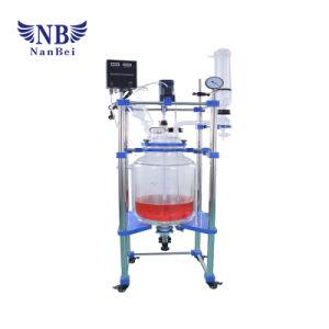 Réacteur chimique de laboratoire isolant chemisé pour prix de verre