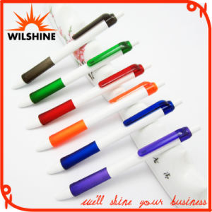 Promotion (BP0293)를 위한 Rubberized Grip를 가진 싼 Plastic Ball Pen