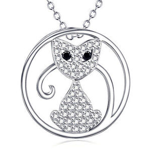 熱い販売は925の銀製のペンダント宝石類に罰金を科す