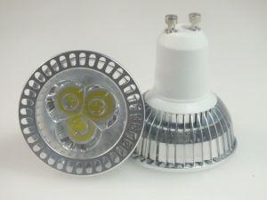 Scheinwerfer der Paypal Leistungs-LED der Birnen-GU10 3X1w LED