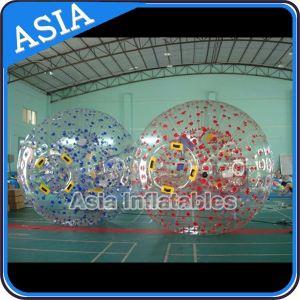 販売のための3メートル人体ゾーブボール、ゾーブランプレーストラック用TPUインフレータブルゾービングボール