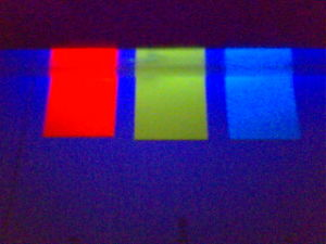 Tinta Fluorescente UV, tinta invisível