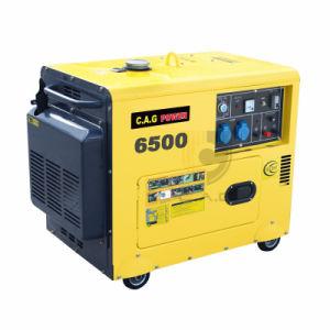 5 Kw/5 kVA/5000 Watt-beweglicher leiser Dieselgenerator