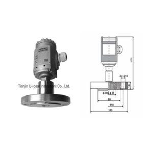 A pressão estática do flange de transmissor de nível de líquido