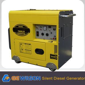Gerador Diesel silenciosa comercializáveis portáteis para utilização em casa