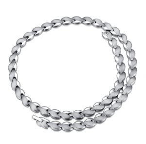 Gesundheitspflege Jewelry Magnetic Titanium Necklace mit Germanium