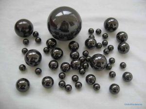 Esfera de cerâmica preta de 1,5mm