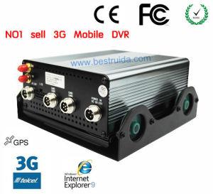 Freie Software mit HDD/SD Karte bewegliches 3G GPS DVR (DV960A)