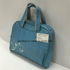 Laptop-Computer Notedbook iPad tragen Beutel-Form-multi Funktions-Weinlese-Handtaschen-Aktenkoffer (GB#40013)